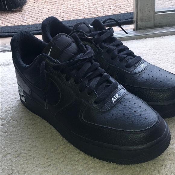 Nike Shoes | Black Air Force S | Poshmark